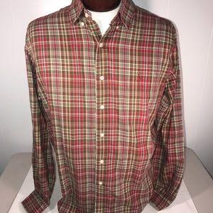 Ralph Lauren   Multicolor Mens Polo Button Up XL